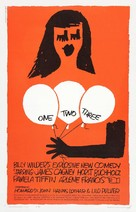 One, Two, Three - Theatrical poster (xs thumbnail)