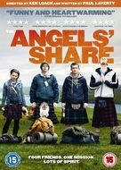 The Angels' Share - British DVD cover (xs thumbnail)