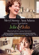 Julie & Julia - Swedish Movie Poster (xs thumbnail)