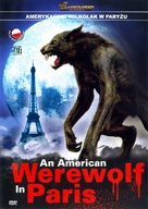 An American Werewolf in Paris - Polish Movie Cover (xs thumbnail)