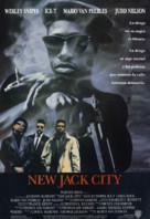New Jack City - Spanish Movie Poster (xs thumbnail)