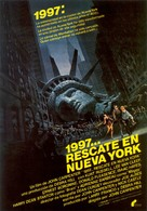 Escape From New York - Spanish Movie Poster (xs thumbnail)