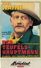 She Wore a Yellow Ribbon - German VHS cover (xs thumbnail)