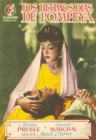 Gli ultimi giorni di Pompei - Spanish Movie Poster (xs thumbnail)