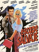 True Romance - Argentinian Movie Poster (xs thumbnail)