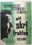 Taste of Fear - Swedish Movie Poster (xs thumbnail)