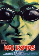 Les espions - Spanish Movie Poster (xs thumbnail)