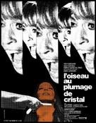 L'uccello dalle piume di cristallo - French Movie Poster (xs thumbnail)