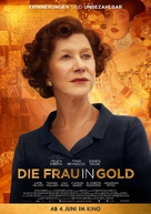 Woman in Gold - German Movie Poster (xs thumbnail)