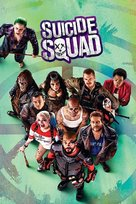 Suicide Squad - Blu-Ray cover (xs thumbnail)