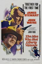The Man Who Shot Liberty Valance - Theatrical movie poster (xs thumbnail)