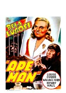 The Ape Man - Belgian Movie Poster (xs thumbnail)