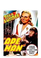 The Ape Man - Belgian Movie Poster (xs thumbnail)
