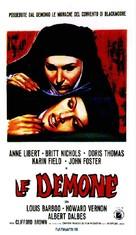 Les démons - Italian Movie Poster (xs thumbnail)