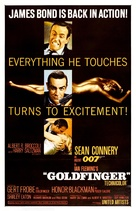 Goldfinger - Movie Poster (xs thumbnail)