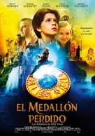 The Lost Medallion: The Adventures of Billy Stone - Spanish Movie Poster (xs thumbnail)