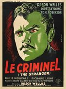 The Stranger - French Theatrical poster (xs thumbnail)