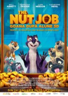 The Nut Job - Romanian Movie Poster (xs thumbnail)