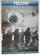Prova d'orchestra - Swedish Movie Poster (xs thumbnail)