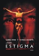 Stigmata - Argentinian DVD movie cover (xs thumbnail)