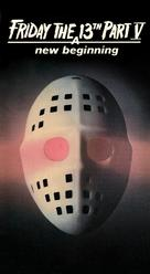 Friday the 13th: A New Beginning - VHS cover (xs thumbnail)