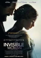 The Invisible Woman - Dutch Movie Poster (xs thumbnail)