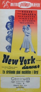 On the Town - Swedish Movie Poster (xs thumbnail)