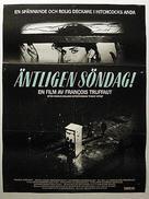 Vivement dimanche! - Swedish Movie Poster (xs thumbnail)