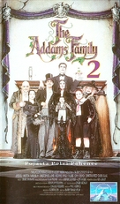 Addams Family Values - Finnish VHS movie cover (xs thumbnail)