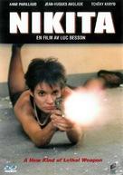 """""""La Femme Nikita"""" - Swedish Movie Cover (xs thumbnail)"""