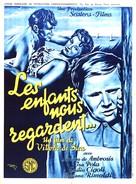 Bambini ci guardano, I - French Movie Poster (xs thumbnail)