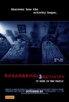 Paranormal Activity 3 - Australian Movie Poster (xs thumbnail)