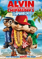 Alvin and the Chipmunks: Chipwrecked - DVD cover (xs thumbnail)