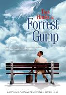 Forrest Gump - German Movie Poster (xs thumbnail)