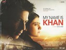 My Name Is Khan - British Movie Poster (xs thumbnail)