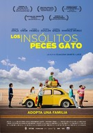 Los insólitos peces gato - Spanish Movie Poster (xs thumbnail)