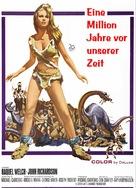 One Million Years B.C. - German poster (xs thumbnail)