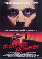 The Hitcher - Danish Movie Poster (xs thumbnail)