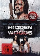 Hidden in the Woods - German DVD movie cover (xs thumbnail)
