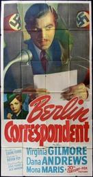 Berlin Correspondent - Movie Poster (xs thumbnail)