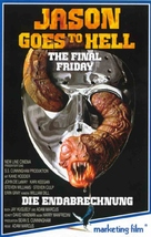 Jason Goes to Hell: The Final Friday - German Movie Cover (xs thumbnail)