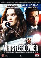 The Whistleblower - Danish DVD cover (xs thumbnail)