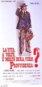 La vita, a volte, è molto dura, vero Provvidenza? - Italian Movie Poster (xs thumbnail)