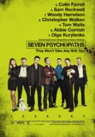 Seven Psychopaths - Swiss Movie Poster (xs thumbnail)