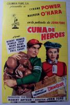 The Long Gray Line - Spanish Movie Poster (xs thumbnail)