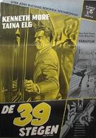 The 39 Steps - Swedish Movie Poster (xs thumbnail)