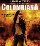 Colombiana - Italian Blu-Ray cover (xs thumbnail)