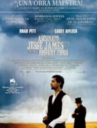 The Assassination of Jesse James by the Coward Robert Ford - Spanish Movie Poster (xs thumbnail)