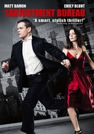The Adjustment Bureau - DVD movie cover (xs thumbnail)