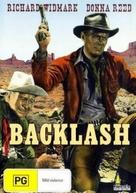 Backlash - Australian DVD movie cover (xs thumbnail)